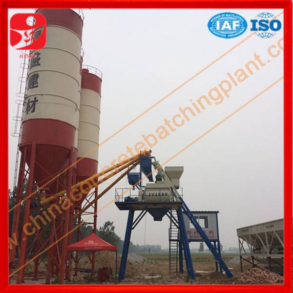 Direct manufacturer Jianxin brand HZS50 concrete mixing station