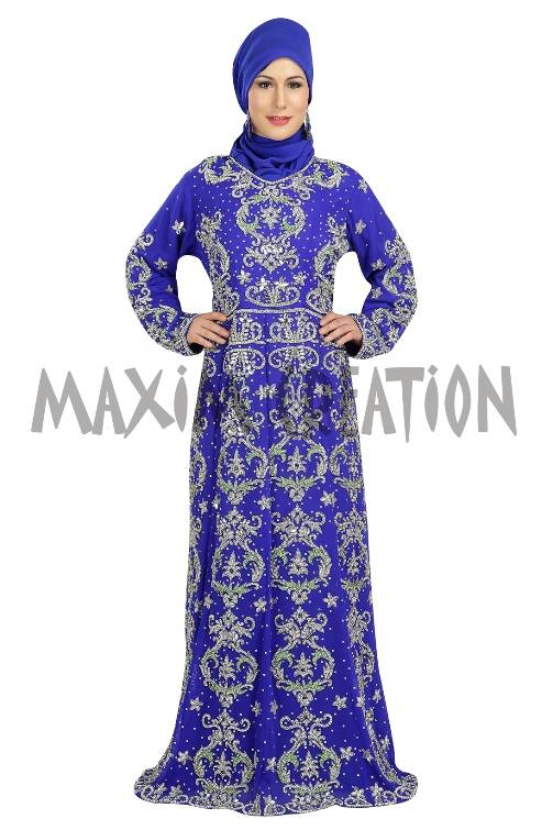 Royal Dubai Party Wear Wedding Caftan For Women