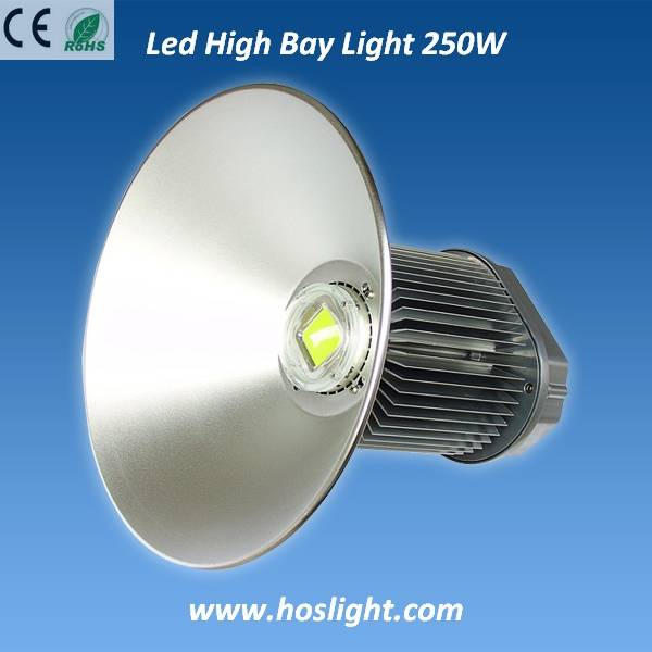 250W LED high bay lighting with UL Mean Well Driver and High Lumen USA Bridgelux Chip