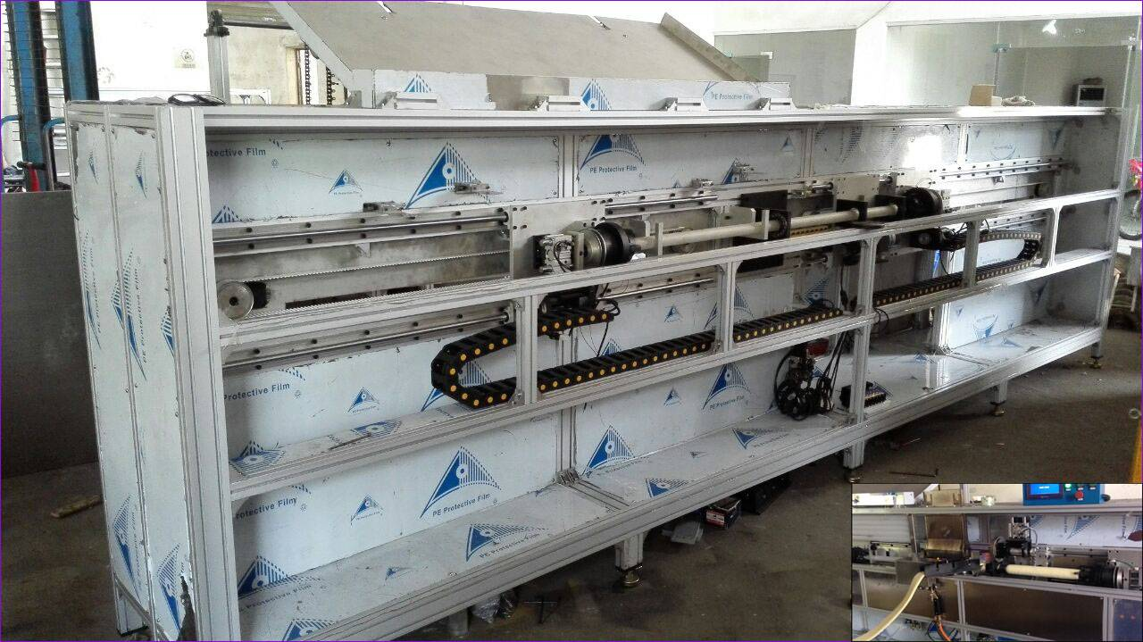 Fully-automatic Paint Roller Fire Thermobonding Machine (TB-FRJ-01)