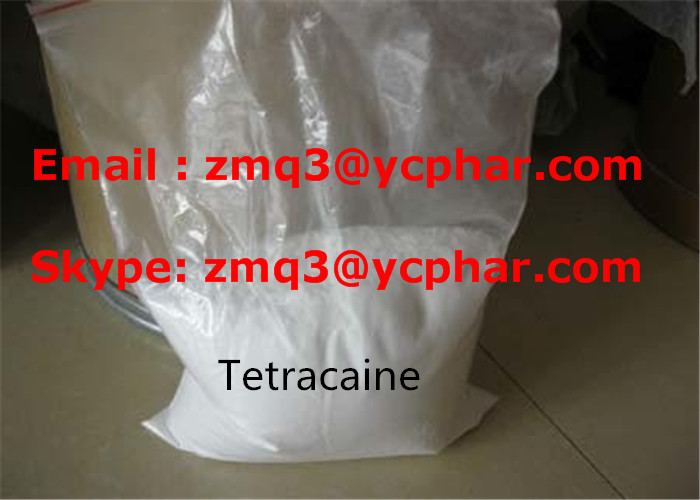 Tetracaine for Pain Relief CAS 94-24-6 Local Anesthetic Drug Powder