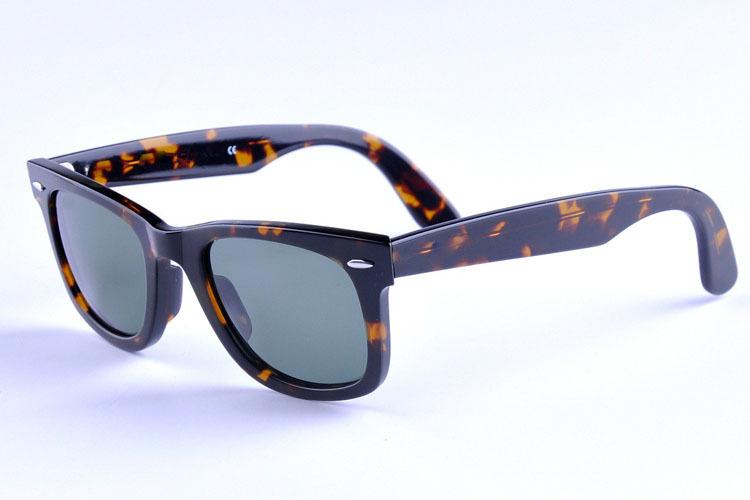 Retro vintage fashion designer wayfarer sunglasses acetate frame glasses lens