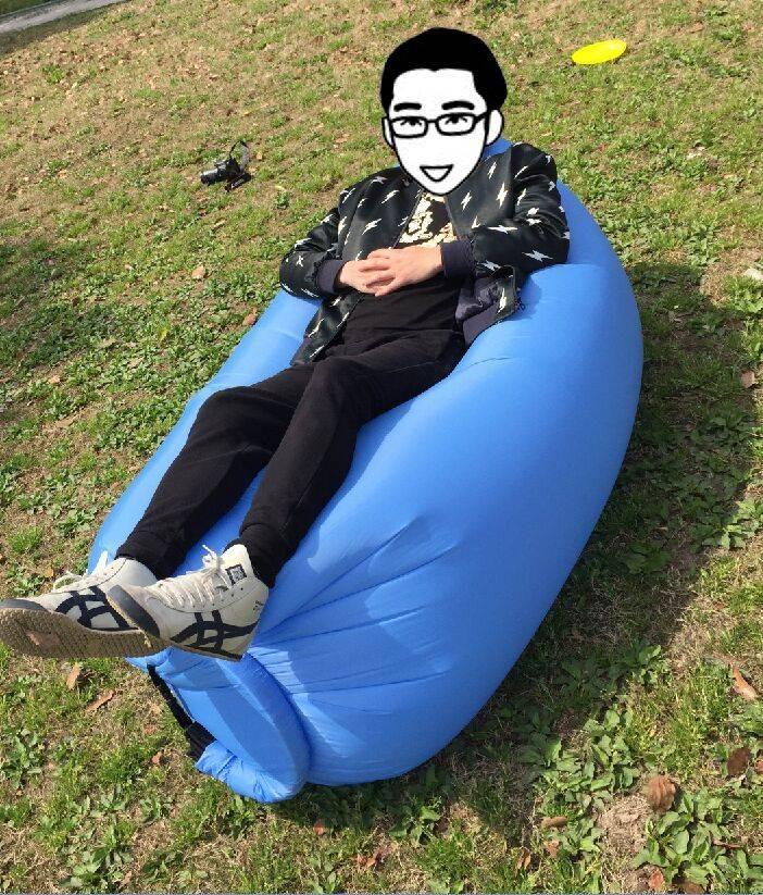 kaisr/lamzac/hangout lounge bag/Ultimate Inflatable Air Lounge
