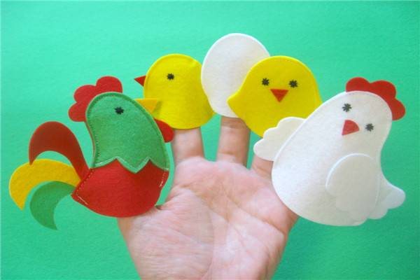 Custom Design Flet Finger Puppet