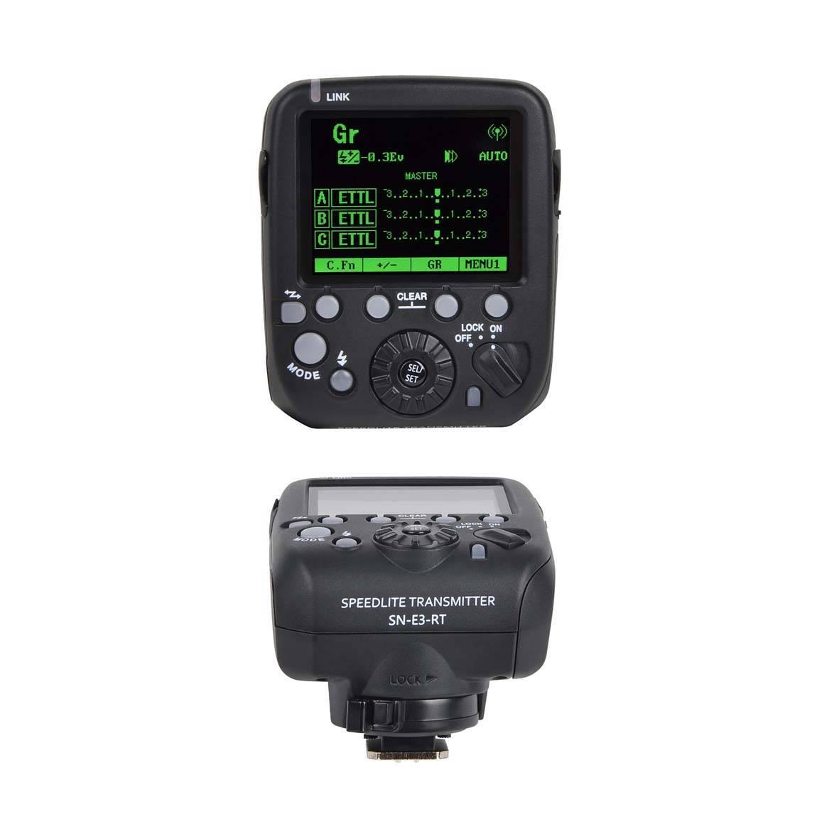 Shanny Sn-E3-Rt Transmitter, Compatible C@Non 600ex-Rt, Sn600c-Rtsn600s, Sn600sc, Sn600ex-Rt Speedli