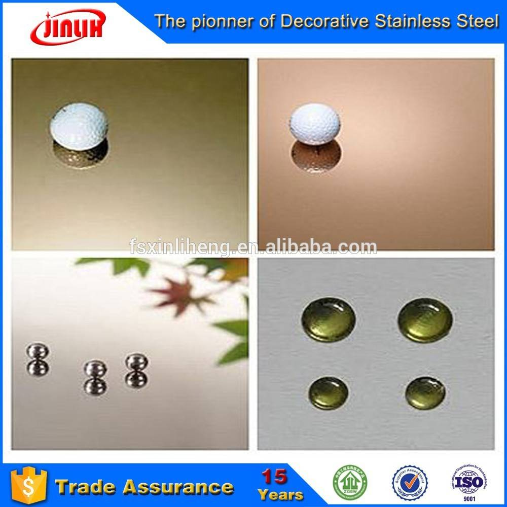 No.8 Mirror Finish decorative stainless steel sheet/plate