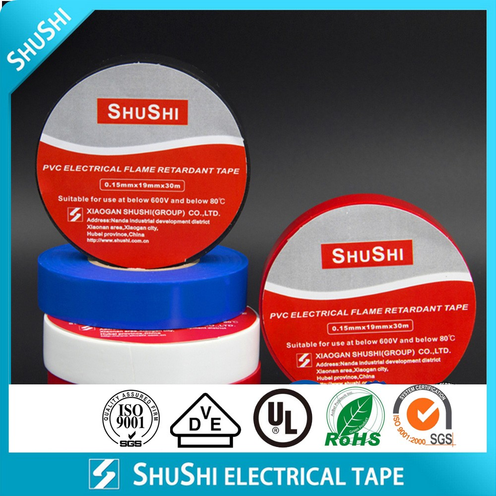 Shushi PVC Electrical Flame Retardant Tape