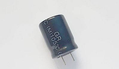 Aluminum electrolytic capacitor with high quality Standard products(GR series)