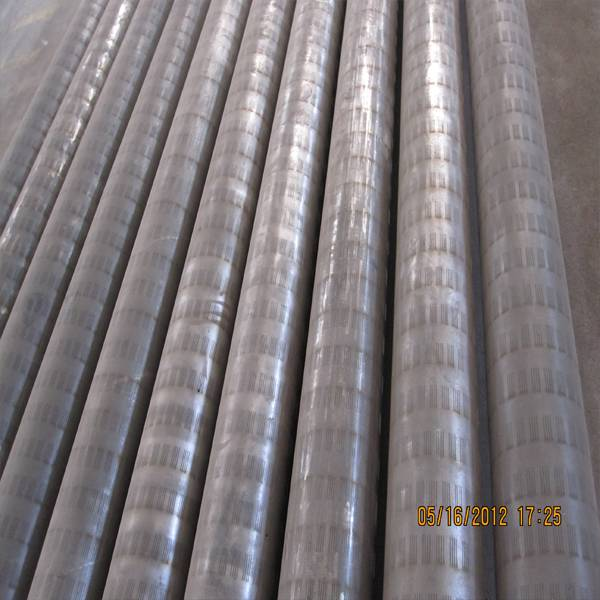 slotted oil sieve pipe