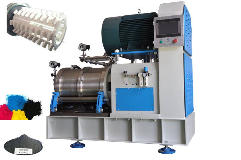 battery material bead mills for chemical industry