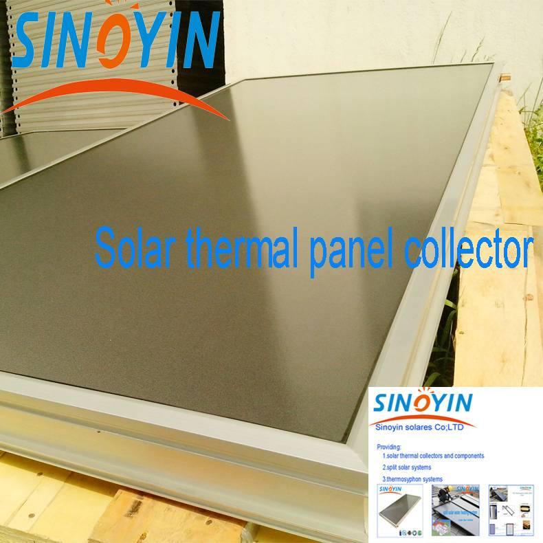 solar thermal heating collector of 2sqm solar key mark