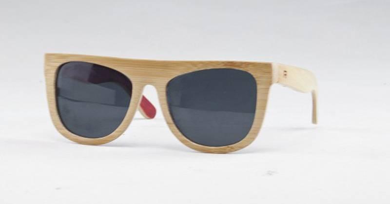 (SW-FB033) Designer Bamboo Sunglasses