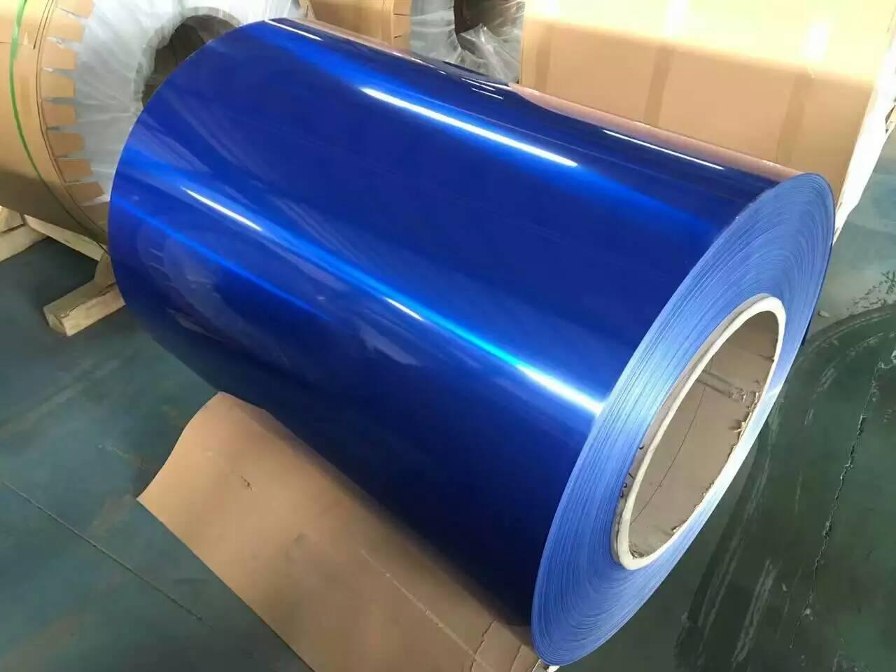 PVDF color coated aluminum coil/foil