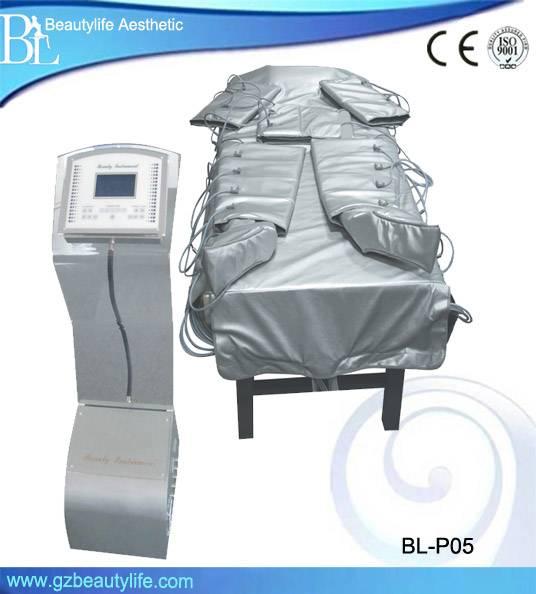 Full body slimming machine infrared pressotherapy/presoterapia detox machine