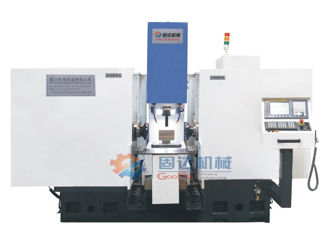 Twin headed CNC milling machine