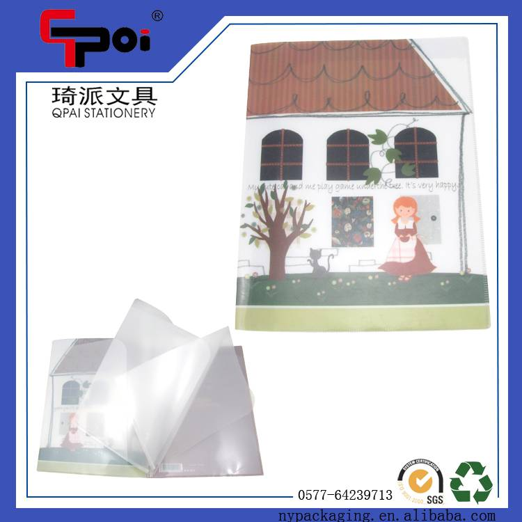 PP Stationery Office Supplier A4 Size Clear Book Display Book