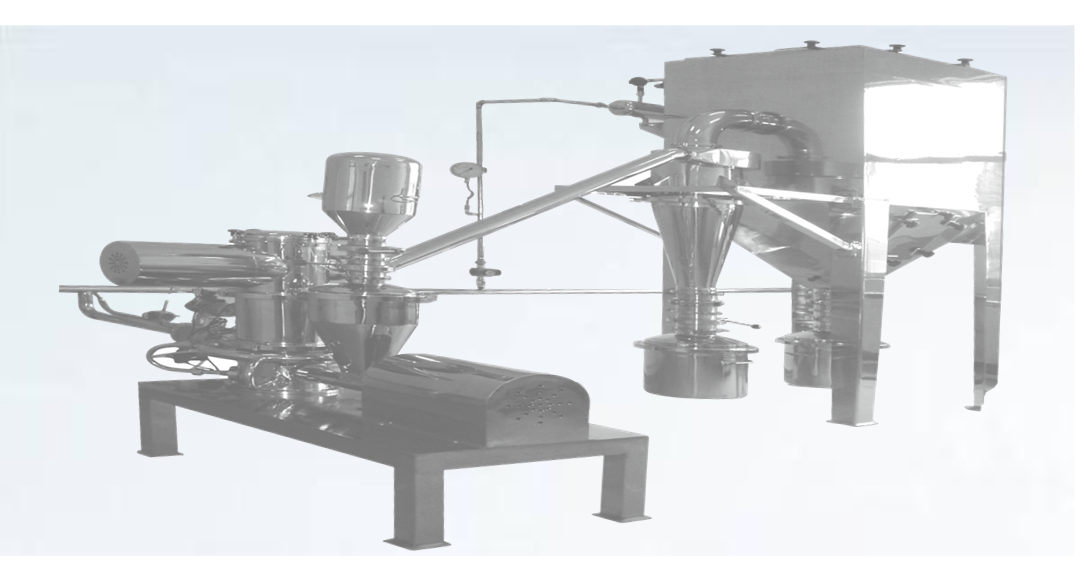 GMP Certified Jet Mill Unit