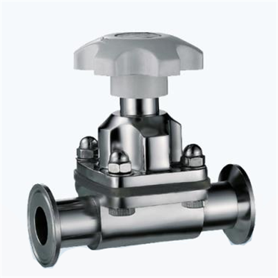 Stainless Steel Sanitary Clamped Diaphragm Valve