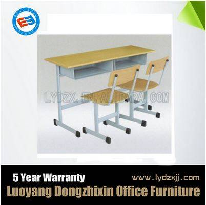 Double Student Desk and Chair