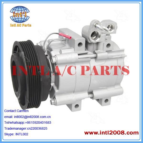 For Audi/Skoda ac compressor pump grooves 6 12V  KPSA018 KPSA018 68179 68179 PXE13-8740F