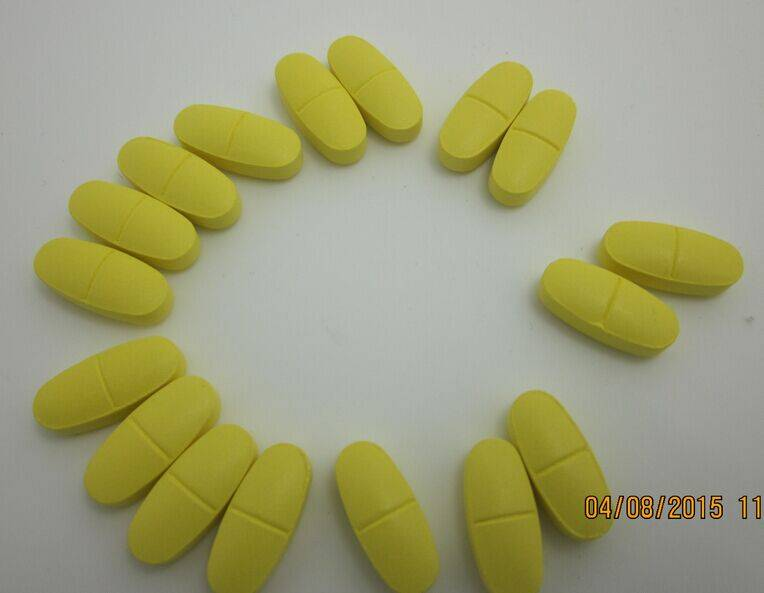 Multivitamin with mineral tablet