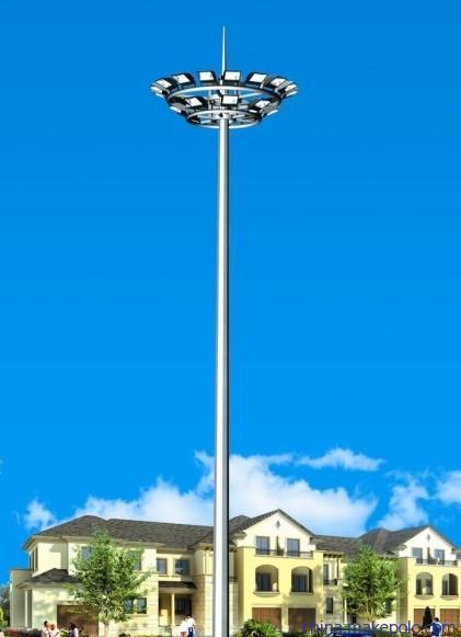 led high pole light