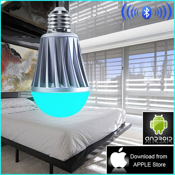 new products for 2013 hot bluetooth led plastic lamp bulb cover