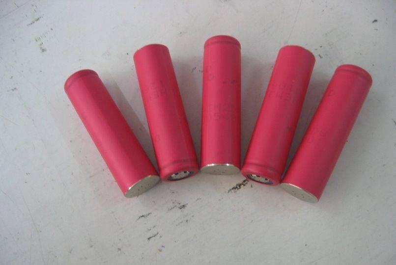 SANYO 18650 li-ion battery