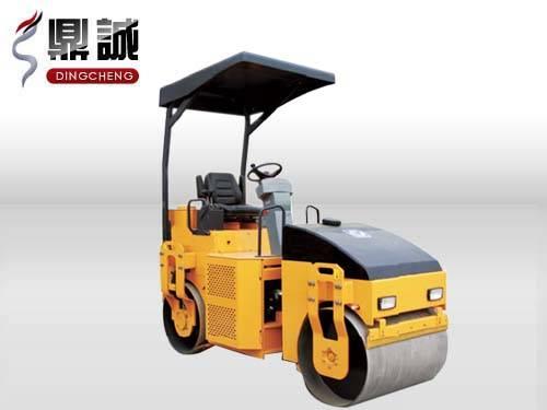 Full hydraulic 3T double steel wheel vibratory road roller