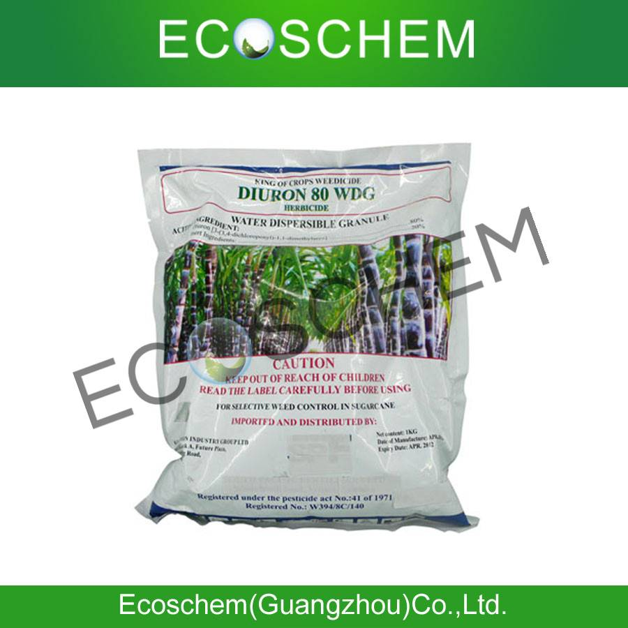 Agrochemical Herbicide for weed control 80% WDG, 80% WP Diuron