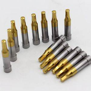 Hex Punch Pins with TiN coating