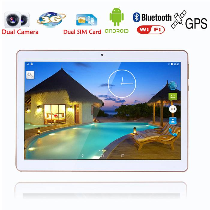 10 Inch Original 3G Phone Call Android Quad Core Tablet pc Android 5.1 2GB RAM 16GB ROM WiFi GPS FM