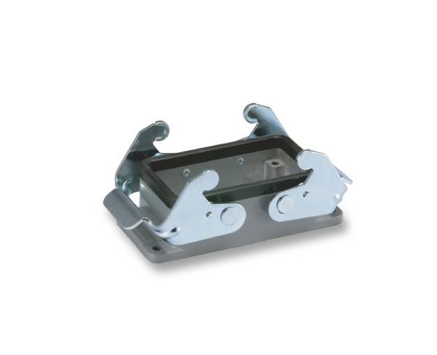 heavy duty connector-H10B-BK-2L