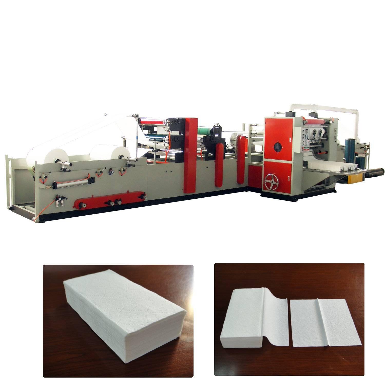 XY-GU-288B V fold hand towel paper lamination machine