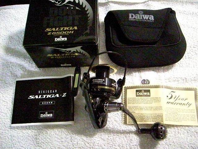 Daiwa Saltiga Z 6500H Dog Fight Reels