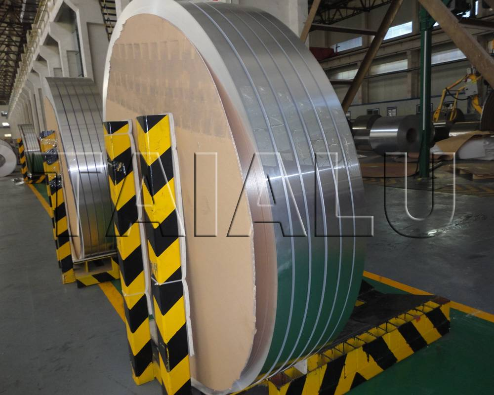 Heat Transfer Aluminum Fin Strip Sheet