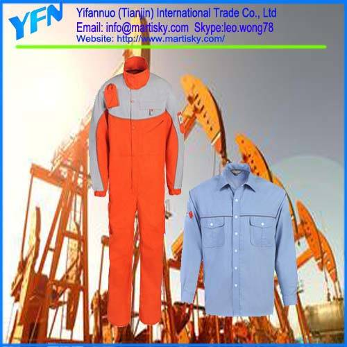 Work Clothes Supply Type Fire Retardant Protective Reflective Work Jacket