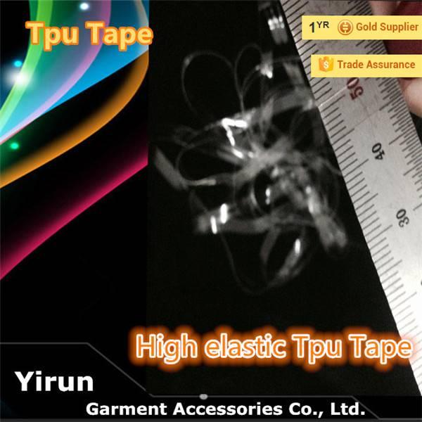 Garment TPU elastic tape T-shirt Garment TPU elastic tape T-shirt accessories elastic TPU tape Garme