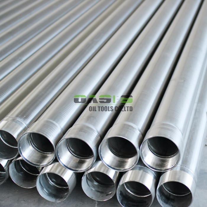 API 5CT stainless steel casing pipe for water/oil drilling