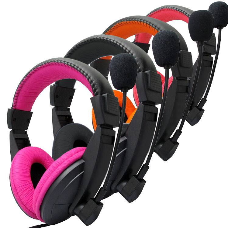 Fashion PC headset factory