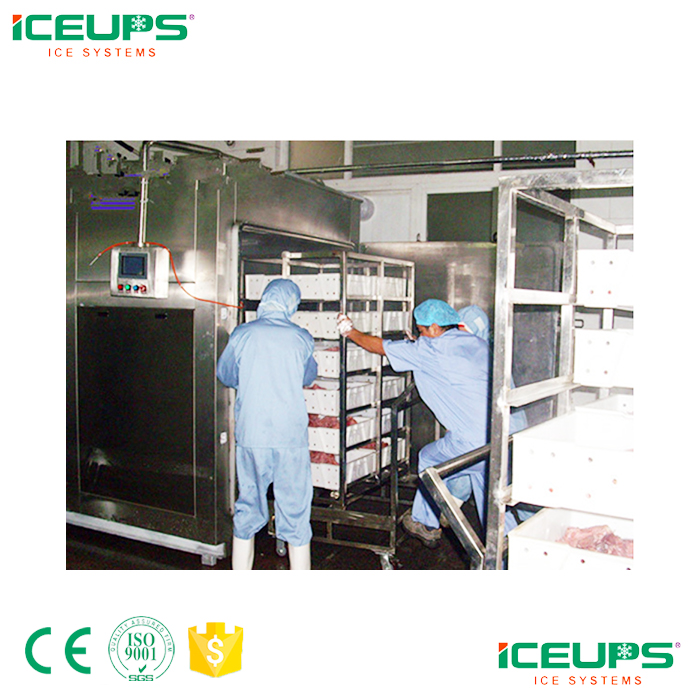 Vacuum cooling machine for ready food