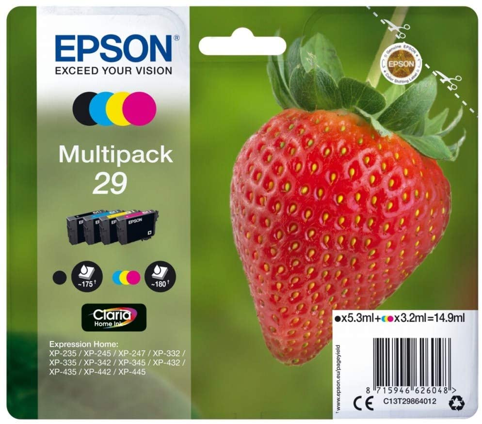 Best price Epson Strawberry 29 Ink Cartridges Multipack