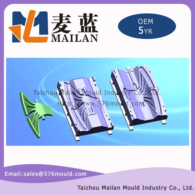Central defrost duct blow mould