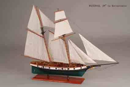ship model --La Couvrance