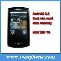 Flying F602 dual sim android gps mobile phone with 3.2inch multi-touch,WIFI, Compass