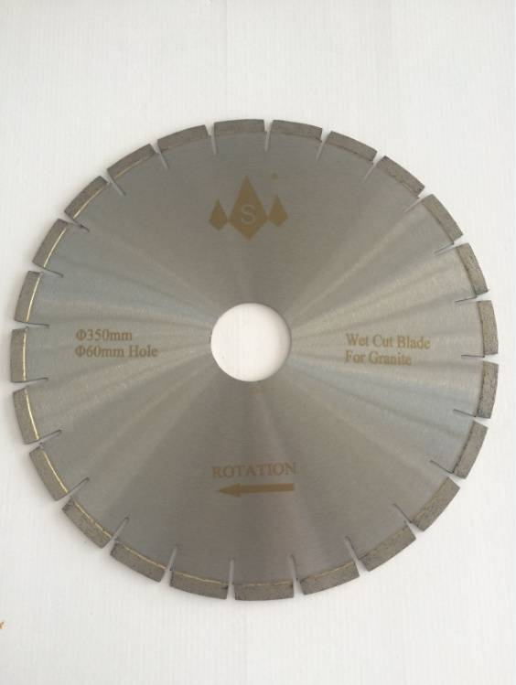 D350mm Diamond Saw Blades for Cutting Granite
