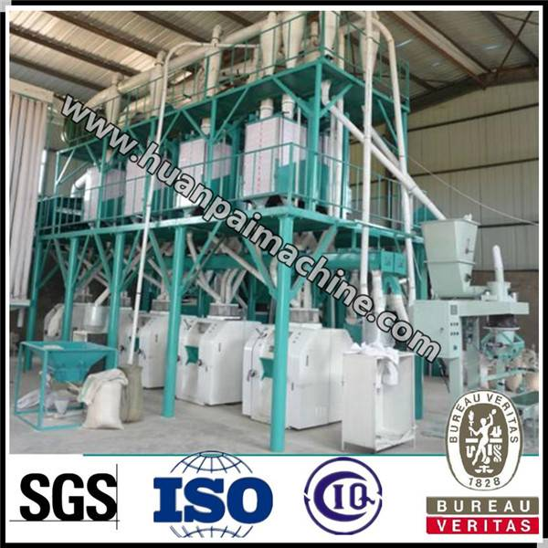 China supplier hot sale maize flour milling machinery