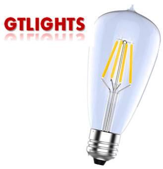 Led Filament Candle Lamp ST58 4W