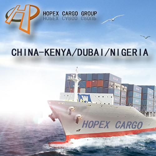 From Guangzhou to Kenya by sea