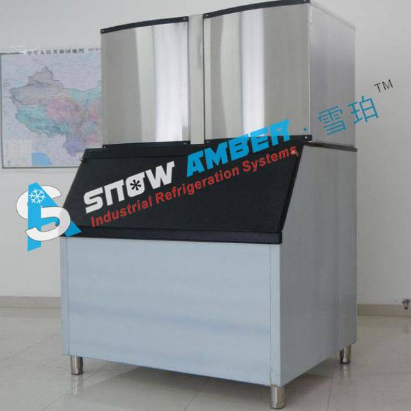 New Compact Commercial Cube Ice Machine for beverage (32 kg-20 ton/day)